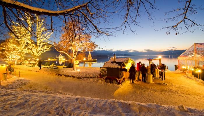 Weihnachtsmarkt in Pörtschach