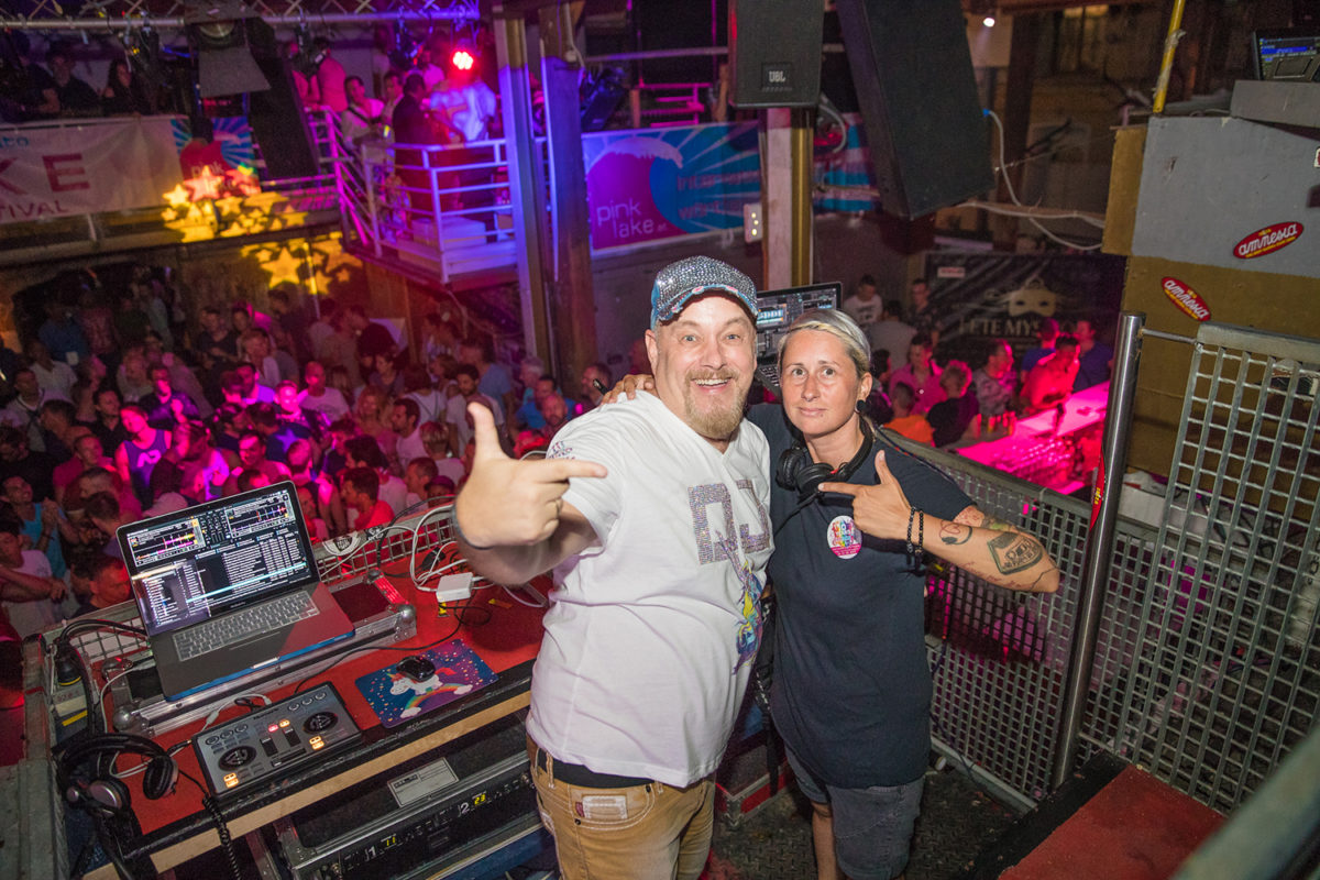 Pink & Blue Clubnight 2017 in der Fabrik