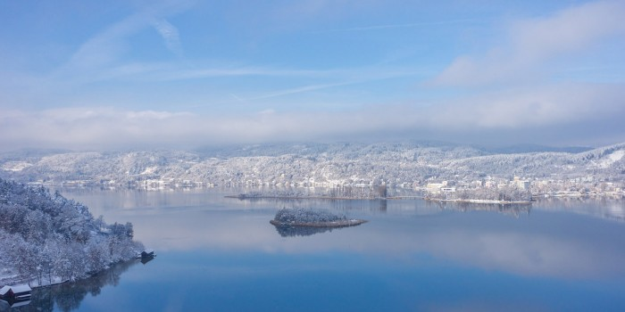 Winter am Woerthersee